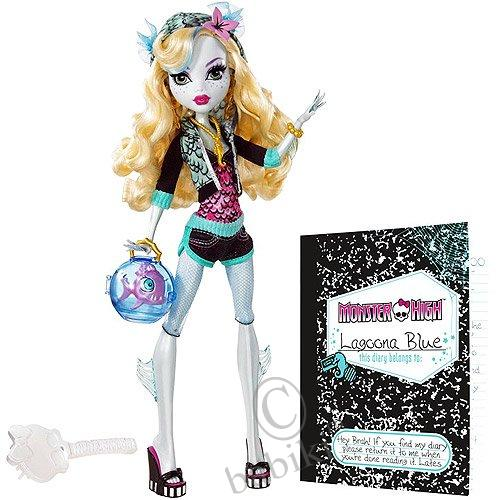 Monster High N2851 Lelle Lagoona Blue.