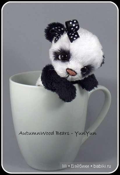 Авторские мишки тедди AutumnWood Bears