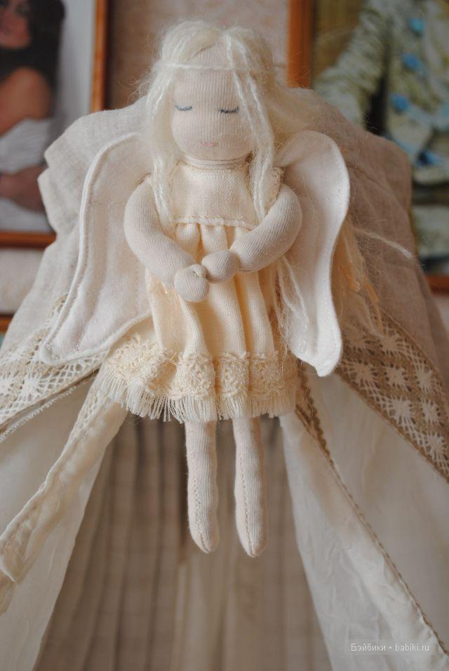 Новогодние ангелочек своими руками